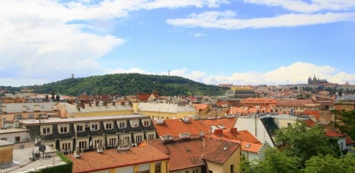 Byt s výhledem na Pražský hrad 621m