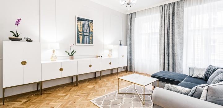 Luxusní byt na pronájem na Vinohradech 140m