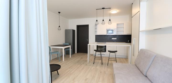 Pronájem bytu 1+kk, Praha - Barrandov, 42m