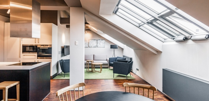 Luxusní byt na pronájem Praha 1 - 113m