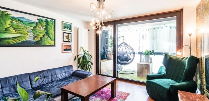 Mezonetový byt s terasami Karlín - 102m