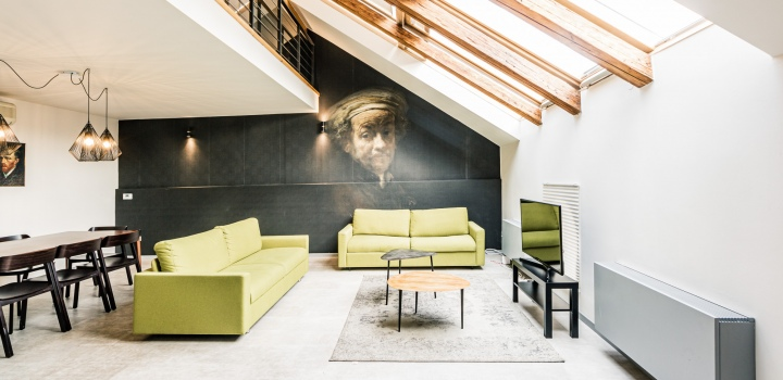 Luxusní byt na prodej na Novém Městě - 141m