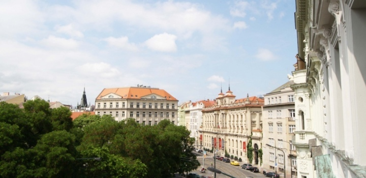 Pronájem kanceláře Praha 1 - 390m