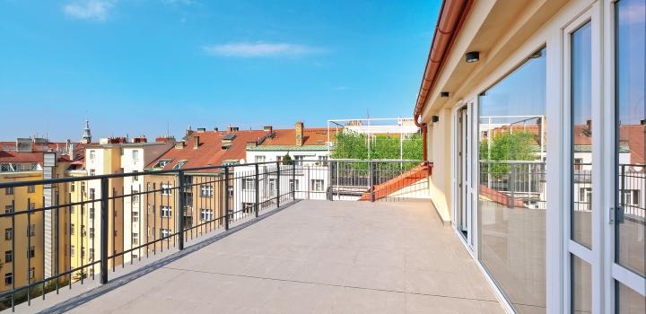 Luxusní byt na pronájem, Vinohrady - 138