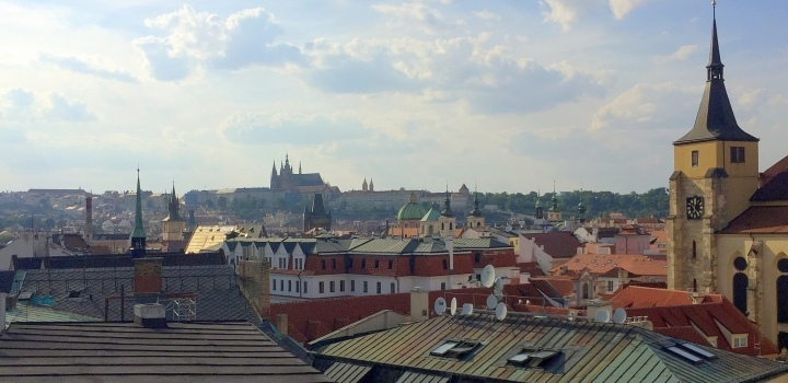 Luxusní byt terasou na Praze 1 - 232m
