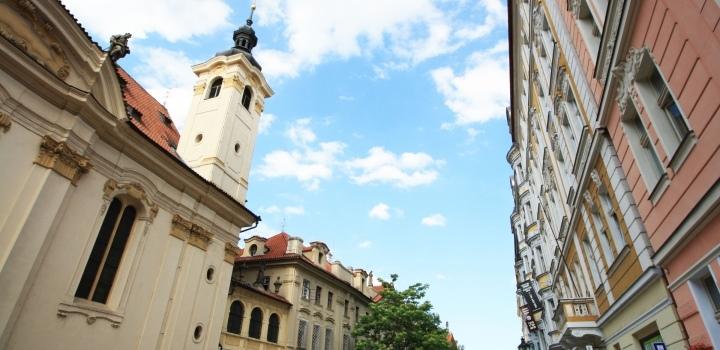 Vila Praha 1 - 350m
