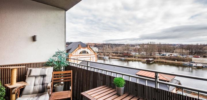 Prodej bytu s terasou Holešovice Praha 7-103m