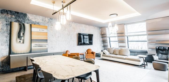 Luxusní byt s terasou Troja 145m