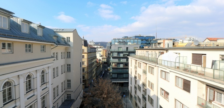 Byt na pronájem s terasou Praha 1 - 202m