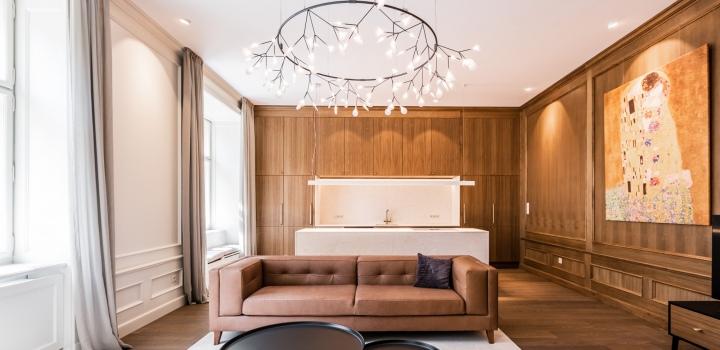 Luxusní byt na Starém Městě - Praha 1 - 120m
