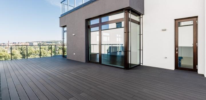 Luxusní byt s terasami Praha 7 - 571m