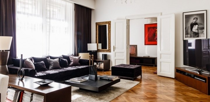 Luxusní byt k pronájmu u nábřeží - 132m