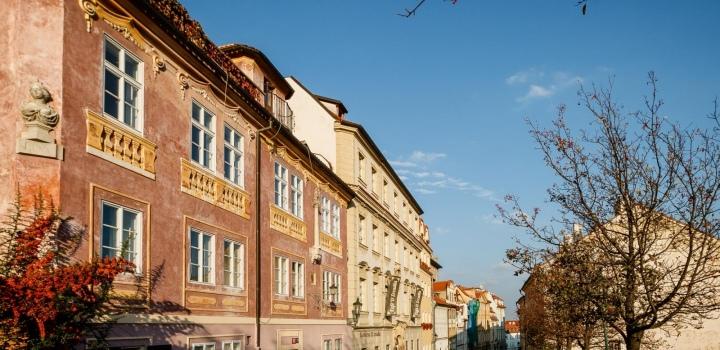 Luxusní byt na prodej v historickém domě Praha