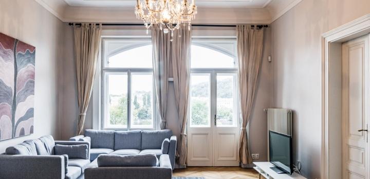 Luxusní byt na pronájem - Praha 1 - Nové Město