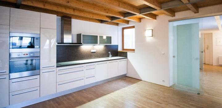Luxusní mezonetový byt s terasou 104m