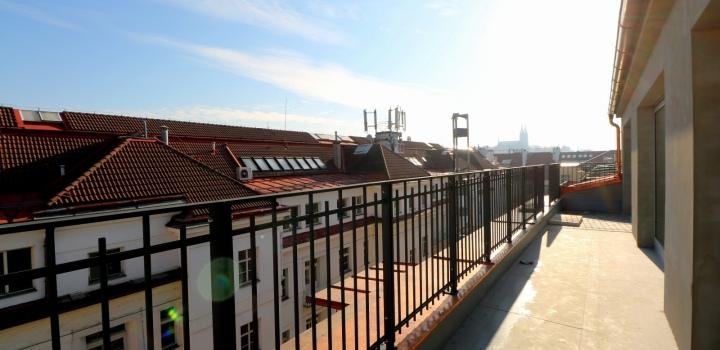 Penthouse na prodej Rašínovo nábřeží - 318m