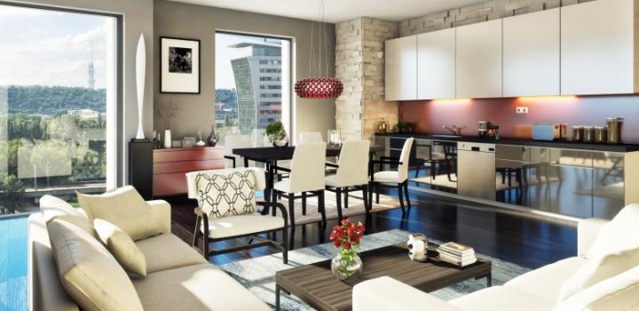 Luxusní byt Praha 7 - 253m