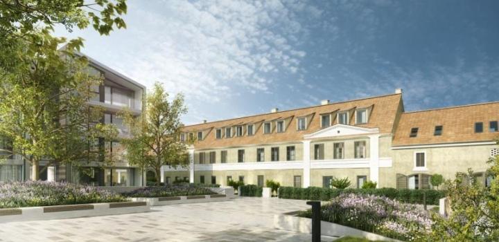 Luxusní byt v barokní budově Praha 6 - 232m