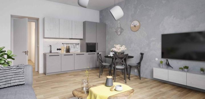 Byt na prodej - Praha 8 - Libeň - 66m