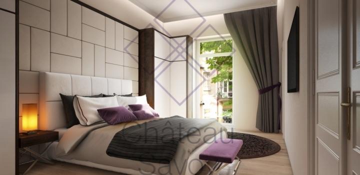 Luxusní byt s balkonem Ametrín, 102m