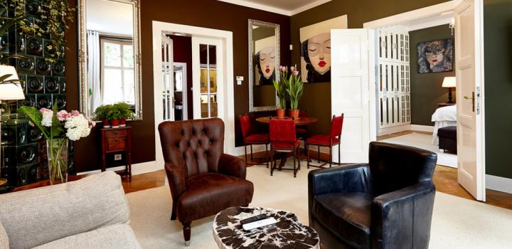 Luxusní byt k pronájmu s výhledem na Vyšehrad
