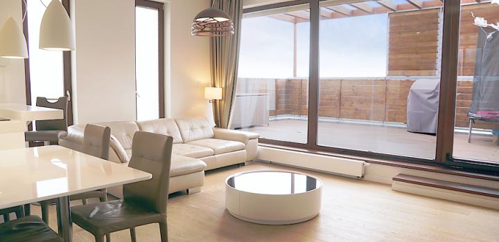 Luxusní penthouse na prodej Praha 9 - 146m