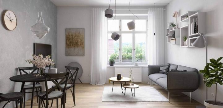 Byt na prodej - Praha 8 - Libeň - 54m