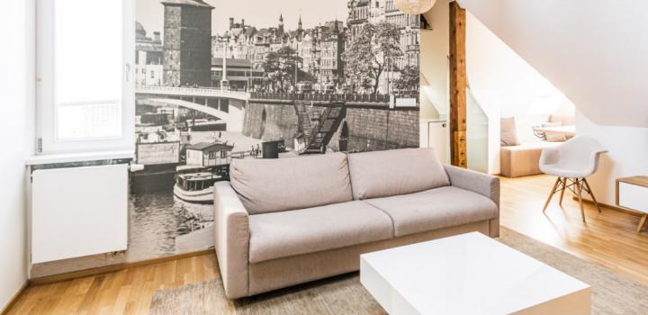 Luxusní byt Praha 1 - 127m