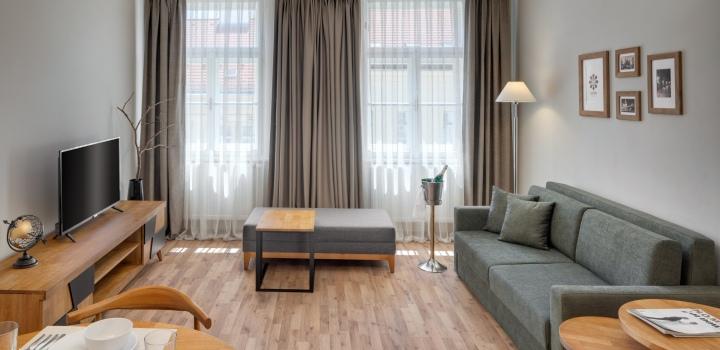 Luxusní byt na pronájem - Praha 7 - 46m