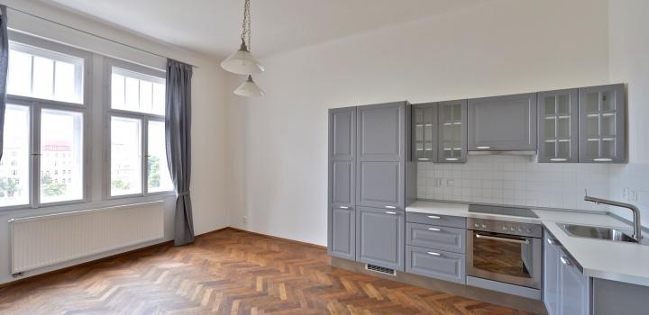 Luxusní byt na pronájem - Praha 3 - Vinohrady