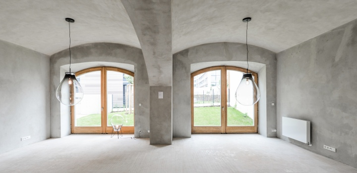 Luxusní triplex se zahradou Praha 6 - 234m