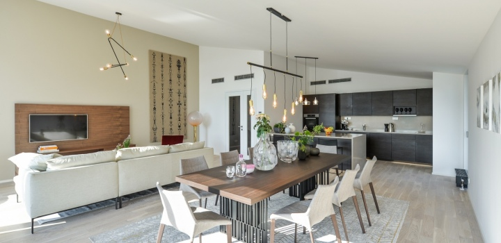 Luxusní byt se zahradou Praha 6 - 151m