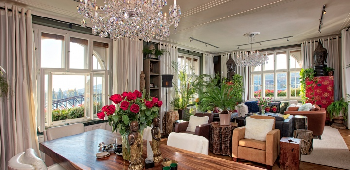 Luxusní penthouse kancelář k pronájmu