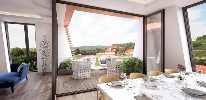 Luxusní byt Praha 6 - 81m