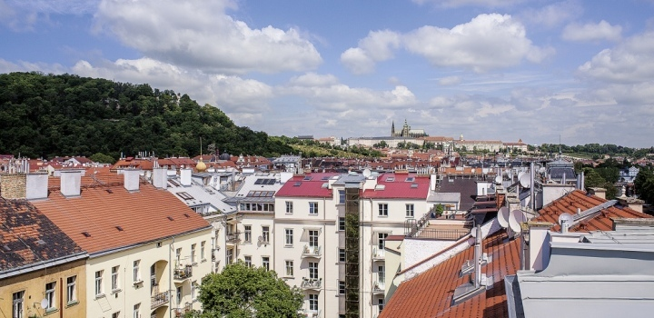 Byt s výhledem na Pražský hrad 420m