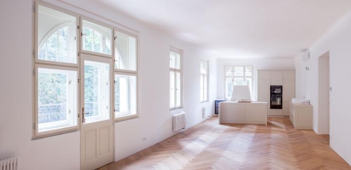 Luxusní byt se zahradou Praha 5 - 100m