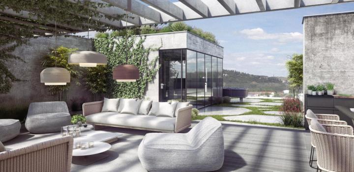 Luxusní loftový byt na Praze 4 - 190m
