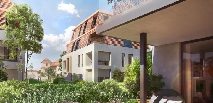 Luxusní byt s terasou Troja 183m