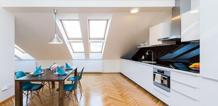 Luxusní byt na prodej na Praze 1 - 95m