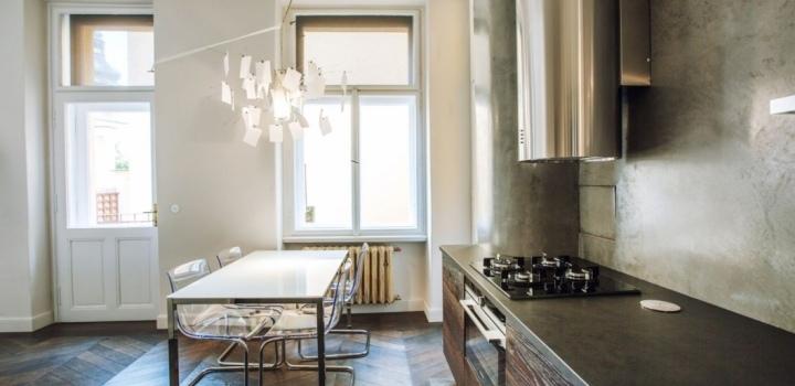 Luxusní byt s terasou 100m Praha 1