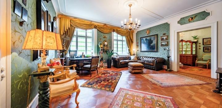 Luxusní byt Praha 2 - 133m