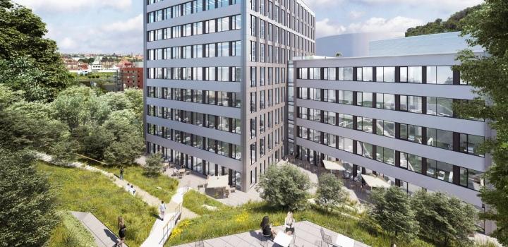 Moderní kanceláře k pronájmu, Praha 5 - 274m2