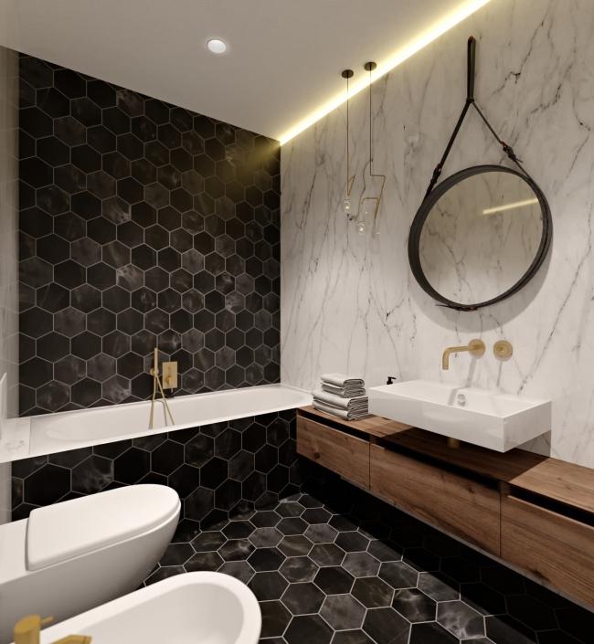 Luxusní byt Praha 3 - 79m 0