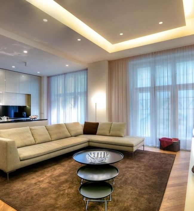 Luxusní kancelář v centru s terasou 270m 1