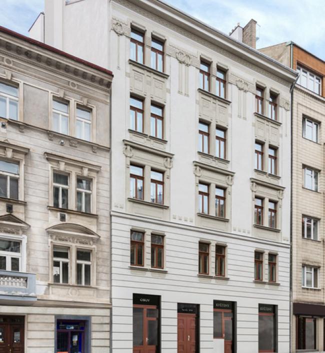 Luxusní mezonetový byt Vyšehrad 45m 1