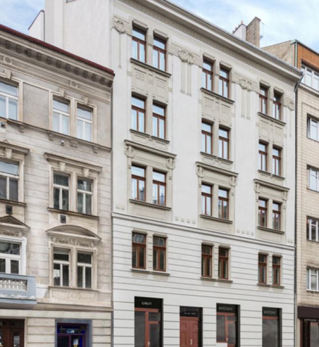 Luxusní mezonetový obchodní prostor k prodeji u Vyšehradu, 151m 1