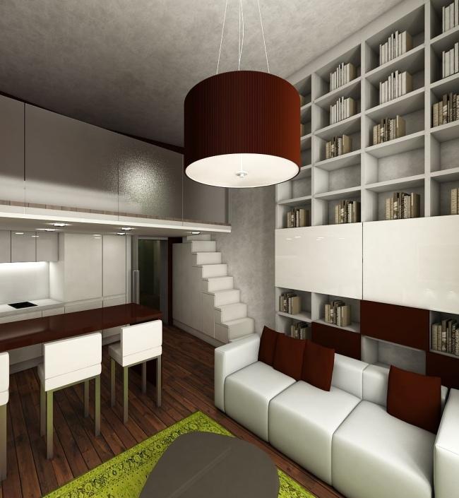 Luxusní byt na Praze 1 - 48m 1