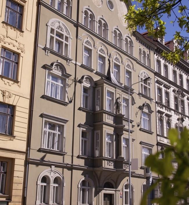 Byt na nábřeží Praha 130m 1
