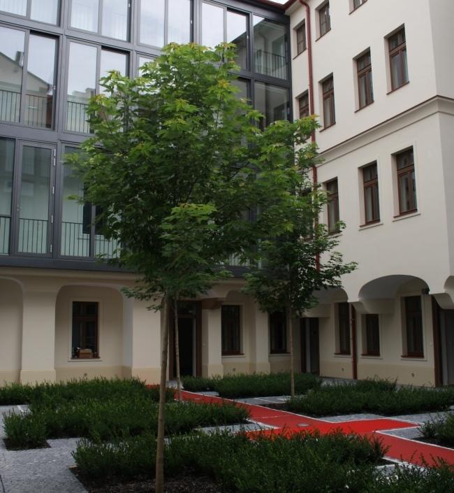 Luxusní byt v centru Prahy Petrská 106m 1