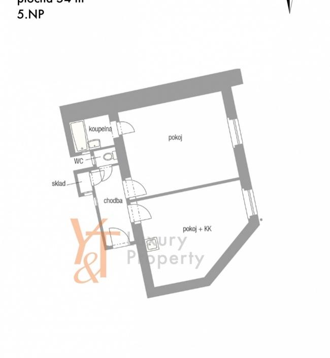 Byt na prodej Praha 10 - 57m 1